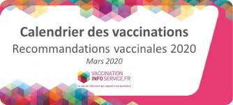 Nouveau calendrier vaccinal 2020
